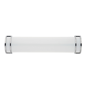 Linear LED Satin Nickel 25-Inch LED Wall Sconce