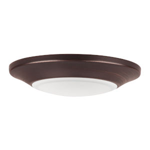 Diverse Bronze Six-Inch 3000K LED Flush Mount