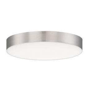 Trim Satin Nickel One-Light 5-Inch ADA LED Flush Mount
