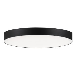 Trim Black One-Light 7-Inch ADA LED Flush Mount