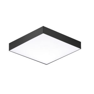 Trim Black One-Light 5-Inch ADA LED Flush Mount