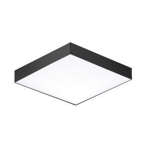 Trim Black One-Light 5-Inch ADA LED Flush Mount