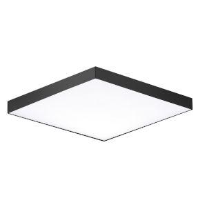 Trim Black One-Light 6-Inch ADA LED Flush Mount