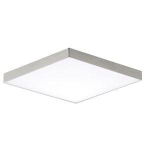 Trim Satin Nickel One-Light 6-Inch ADA LED Flush Mount
