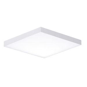 Trim White One-Light ADA LED Flush Mount with 1100 Lumens