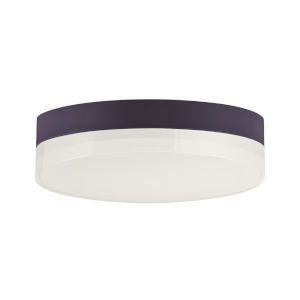 Illuminaire Ii Bronze One-Light LED Flush Mount with Acrylic Shade 3000 Kelvin
