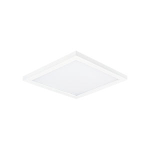 Chip White 5-Inch 3000K Led One-Light Flush Mount with Polycarbonate Shade