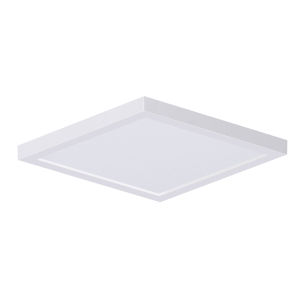 Chip White Square LED Flush Mount