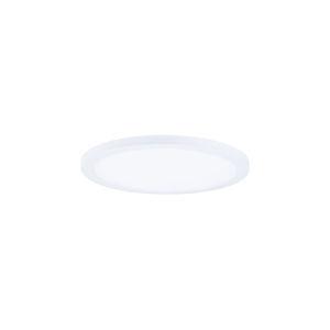 Wafer White 5-Inch 3000K Led One-Light Flush Mount with Acrylic Shade