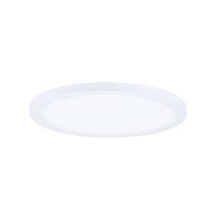 Wafer White 10-Inch 3000K Led One-Light Flush Mount with Acrylic Shade
