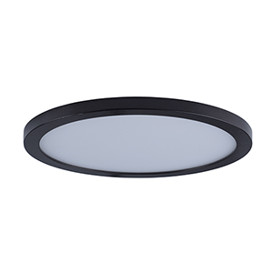 Wafer LED Round Bronze 15-Inch Energy Star Flush Mount
