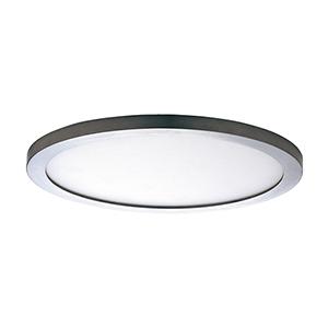 Wafer LED Round Satin Nickel 15-Inch Energy Star Flush Mount