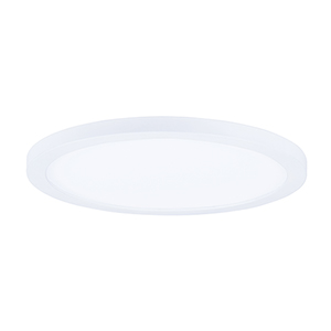 Wafer LED Round White 15-Inch One-Light Energy Star Flush Mount