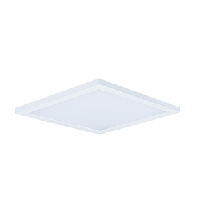 Wafer LED Square White 15-Inch Energy Star Flush Mount