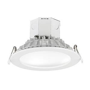 Cove White Six-Inch LED Energy Star Flush Mount
