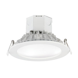 Cove White 6-Inch 4000K LED Recessed Downlight Title 24