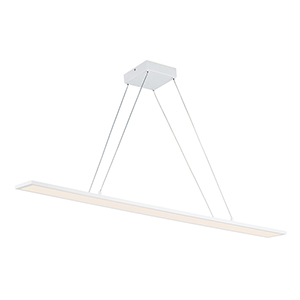 Wafer White Integrated LED Pendant