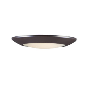Diverse Bronze 9-Inch LED Flush Mount