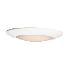 Diverse White 13-Inch LED Flush Mount