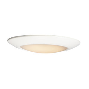 Diverse White 13-Inch 2700K LED Flush Mount Title 24