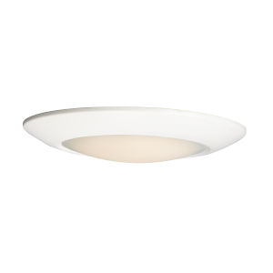 Diverse White 13-Inch 4000K LED Flush Mount Title 24