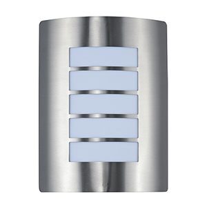 View LED E26 Stainless Steel Nine-Inch One-Light Outdoor Wall Mount