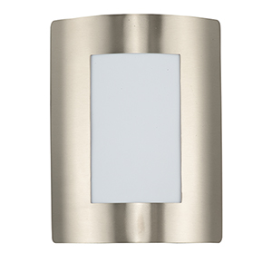 View LED E26 Stainless Steel Eight-Inch One-Light Outdoor Wall Mount