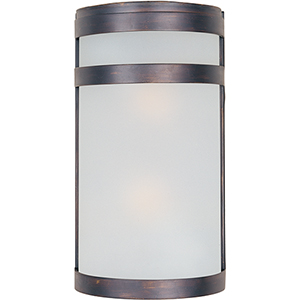 Oil Rubbed Bronze Two-Light LED ADA Wall Sconce