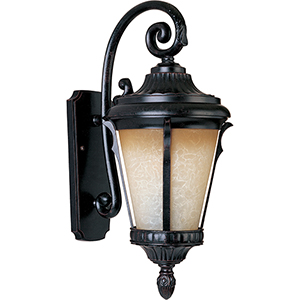 Odessa LED E26 Espresso Nine-Inch One-Light Outdoor Wall Mount