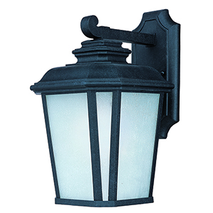Radcliffe LED E26 Black Oxide Nine-Inch One-Light Outdoor Wall Mount