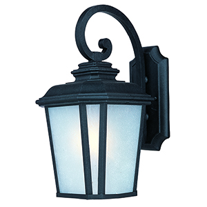 Radcliffe LED E26 Black Oxide Nine-Inch LED Outdoor Wall Mount