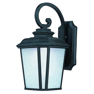Radcliffe LED E26 Black Oxide 11-Inch LED Outdoor Wall Mount