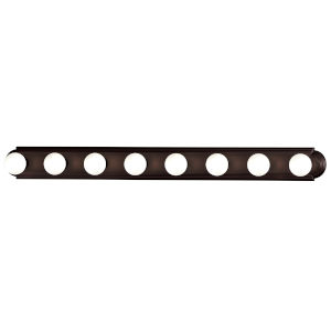 Essentials - 712X 48-Inch Oil Rubbed Bronze Eight-Light Bath Vanity