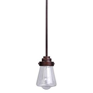 Cape Cod Weathered Zinc LED Single Mini Pendant