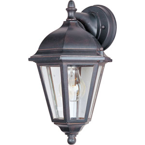 Westlake Empire Bronze One-Light Eight-Inch Outdoor Wall Sconce