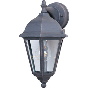 Westlake Rust Patina One-Light Eight-Inch Outdoor Wall Sconce