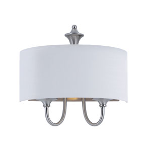 Bongo Satin Nickel One-Light Wall Sconce