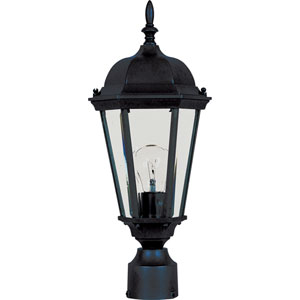Westlake Black One-Light Outdoor Post