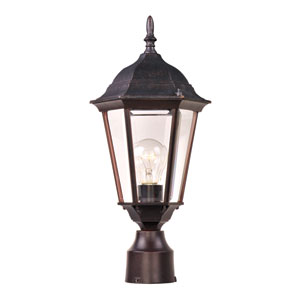 Westlake Empire Bronze One-Light Outdoor Post