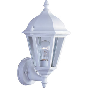 Westlake White One-Light Outdoor Wall Sconce