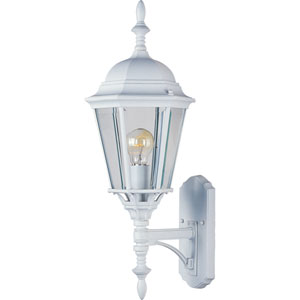 Westlake White Cast One-Light Outdoor Wall Lantern