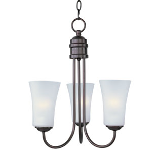 Logan Oil Rubbed Bronze Three-Light Single-Tier Chandelier