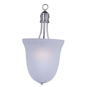 Logan Satin Nickel Three-Light Pendant