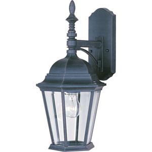 Black Westlake Cast One-Light Outdoor Wall Lantern