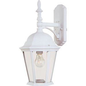 White Westlake Cast One-Light Outdoor Wall Lantern