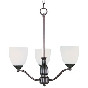 Stefan Oil Rubbed Bronze Three-Light Single-Tier Chandelier