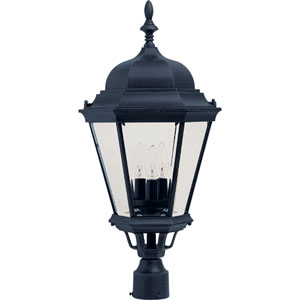 Westlake Cast Three-Light Outdoor Pole/Post Lantern