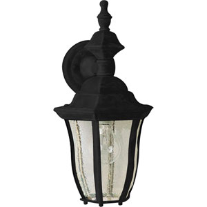 Madrona Black One-Light Outdoor Wall Sconce