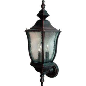 Rust Patina Madrona Three-Light Outdoor Wall Lantern
