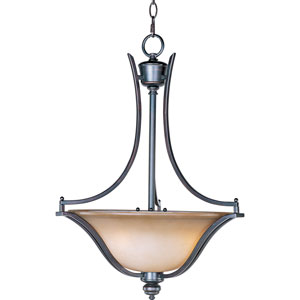 Madera Oil Rubbed Bronze Three-Light Pendant